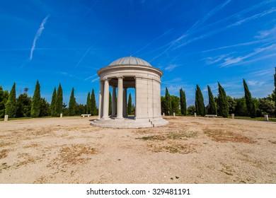 Maskin family mausoleum, Red Island (Crveni otok), Rovinj, Croatia