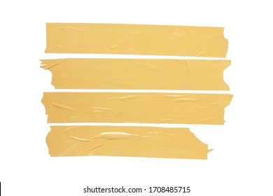 masking tape for close box paper. isolated with clipping path