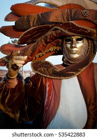Masks for carnival of Venice, Italy, March 04th 2011, Editorial photo