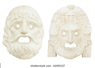 a masks  with fear anger emotions