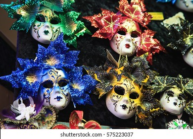 The masks in Venice.