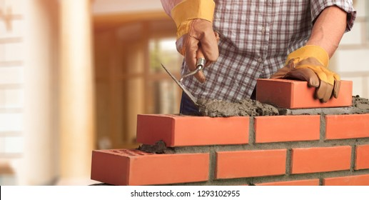 Masonry build bricklayer construction handyman layer trowel
