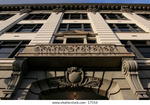 masonry building facade