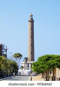 Maspalomas Lighthouse, Gran Canaria, Canary Islands, Spain