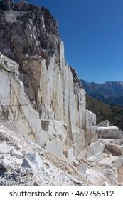 Massa Carrara Tuscany Italy marble quarries