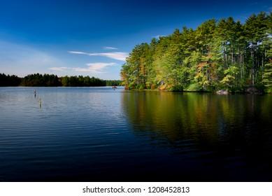 Massabesic lake in new hampshire near Manchester peacefull place