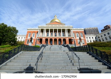 Massachusetts State House, Boston Beacon Hill, Massachusetts, USA