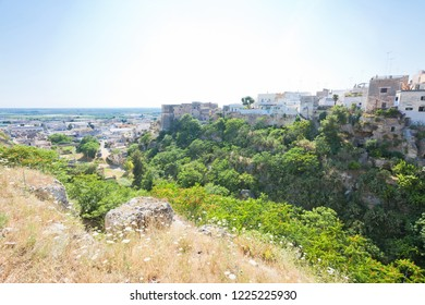 Massafra, Apulia, Italy - Idyllic middle aged village in the back country of Apulia