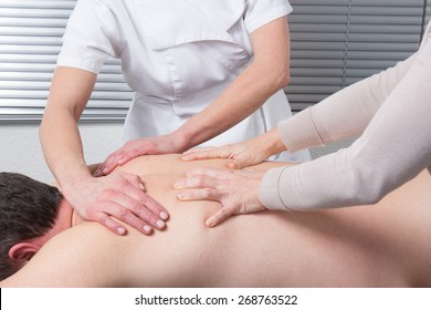 The massage with 4 hands