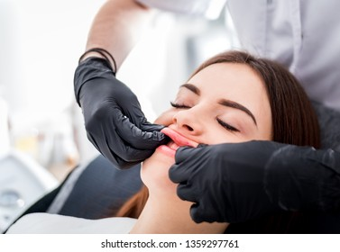 Lip Enlargement Images, Stock Photos & Vectors | Shutterstock