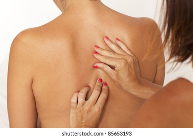 Massage of back