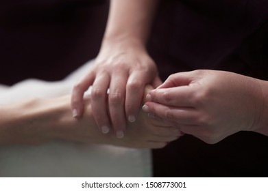 Massage and bodywork acupressure for the feet.