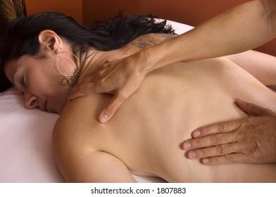 Massage at Day Spa Salon