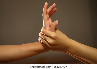 Acupressure Point Hand Images, Stock Photos & Vectors