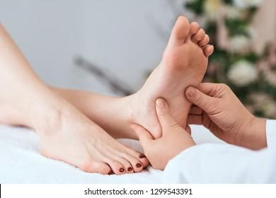 massage relax woman
