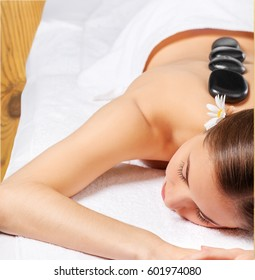 Massaging.