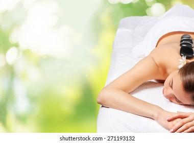Massaging, Spa Treatment, Lastone Therapy.
