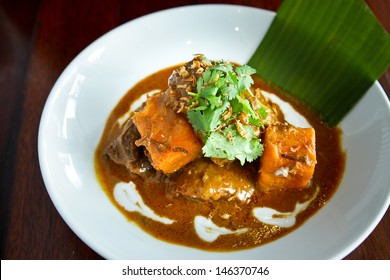 Massaman curry, one of delicious Thai food
