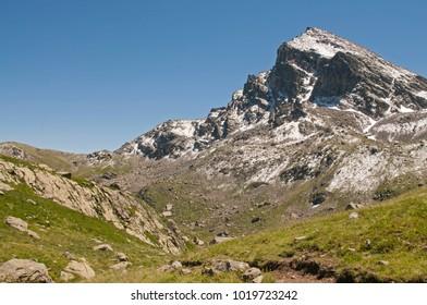 Massif of Monviso (Cozie alps)