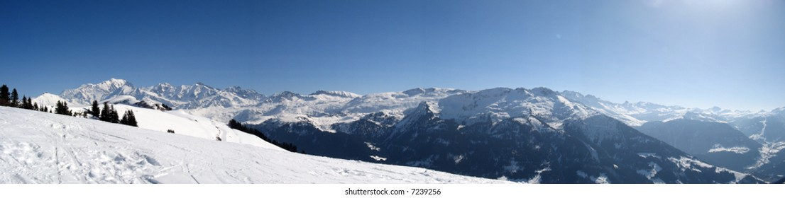 Massifs of the Mont Blanc and Beaufortain, Savoy, France