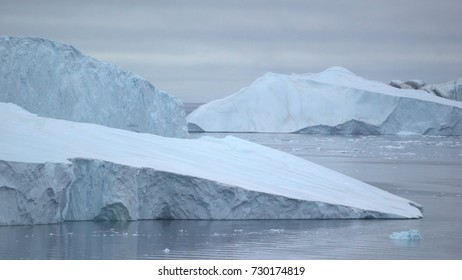 Massive Iceberg on arctic ocean in Greenland