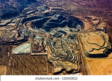 Massive Open Pit Mine