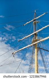 Mast of ship