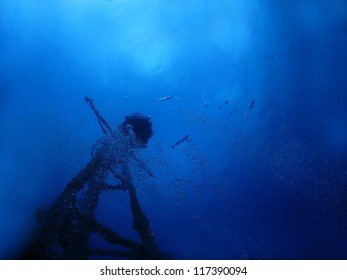 Mast of Wreck