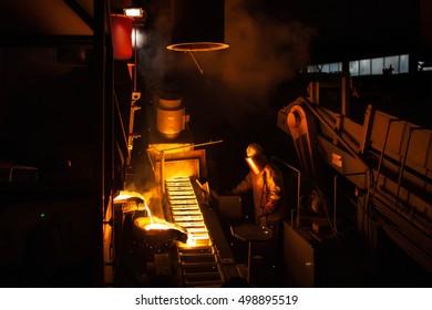 Master alloys production