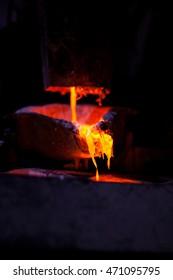 Master alloys production from molten aluminium