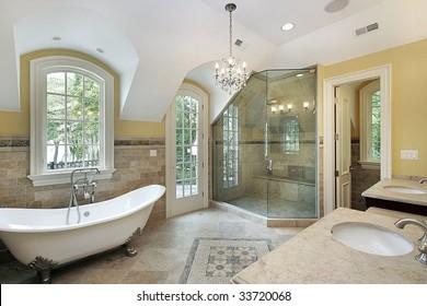 Master Bathroom Images Stock Photos Vectors Shutterstock
