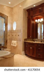 Master Bathroom Cabinetry & Shower