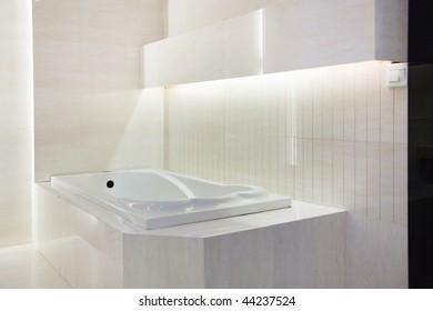 Master Bathroom Interior in a new modern house