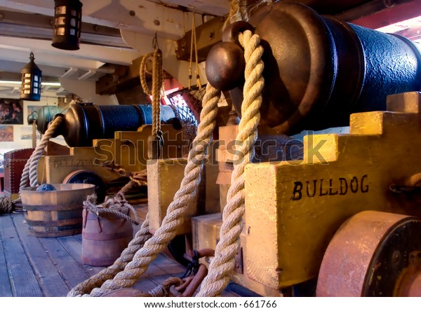 Master and Commander - Cannon Deck (exclusive at shutterstock)