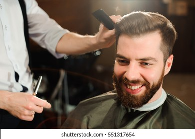 Male Hair Cut Images, Stock Photos \u0026 Vectors