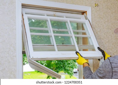 Master removes old home repairs, replacement windows