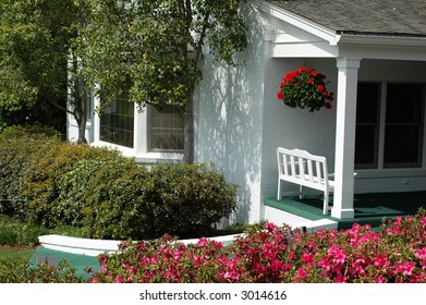 Masters.  Cabin at Augusta