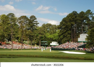 Masters.  Green at Augusta