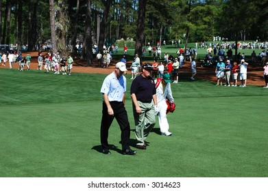 Masters.  Jim Furyk at Augusta