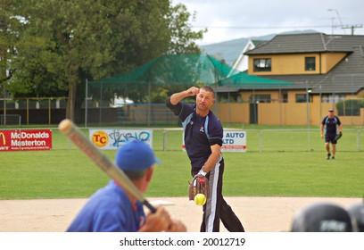 Softball Pitcher Images Stock Photos Amp Vectors Shutterstock