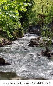 Masukiye natural park at spring in Kartepe Turkey