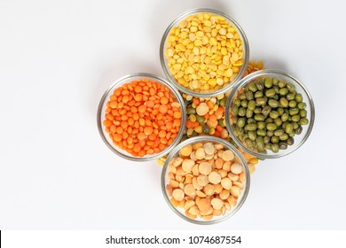 Masur Moong mung boot chana chickpea pea yellow red green dal lentil pulse bean split verity mix