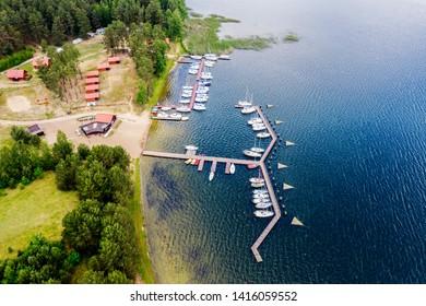 Masuria-the land of a thousand lakes in Poland