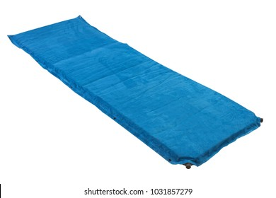 mat for sport horizontal on a white background, for yoga, tourism, active lifestyle, isolated
