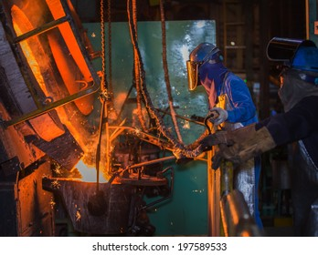 matallurgical production, production of cast iron, metal melting