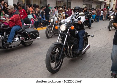 Matamoros, Tamaulipas, Mexico - March 01, 2014, Desfile Fiestas Mexicanas is part of the Charro Days Fiesta - Fiestas Mexicanas, A bi-national festival between USA and Mexico.