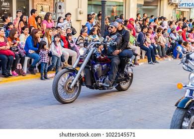 Matamoros, Tamaulipas, Mexico - March 02, 2013, Desfile Fiestas Mexicanas is part of the Charro Days Fiesta - Fiestas Mexicanas, A bi-national festival between USA and Mexico.