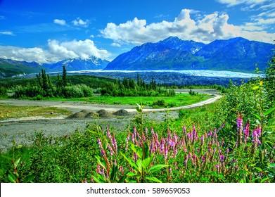 Matanuska Glacier, Alaska, America