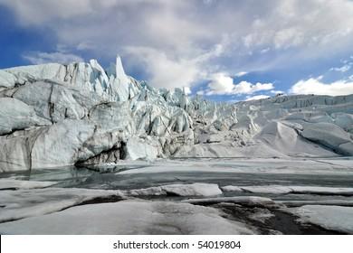 Matanuska glacier lake