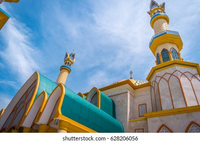 of Mataram's National Islamic Centre Mosque in Lombok, Indonesia